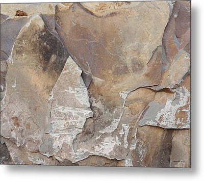 Metal Print featuring the photograph Rocky Edges by Jason Williamson