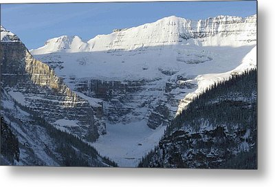 Rocky Mountain Blue Metal Print
