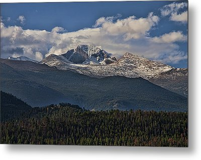 Rocky Mountain High Metal Print by Anne Rodkin
