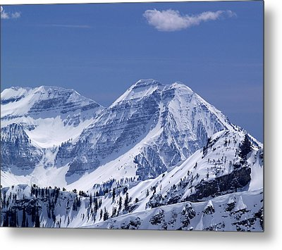 Rocky Mountain High Metal Print by Bill Gallagher