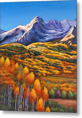 Rocky Mountain High Metal Print by Johnathan Harris
