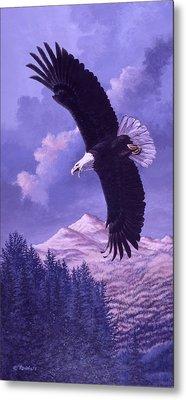 Rocky Mountain High Metal Print by Richard De Wolfe