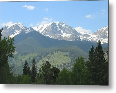 Rocky Mountain National Park - 2 Metal Print by Christy Pooschke