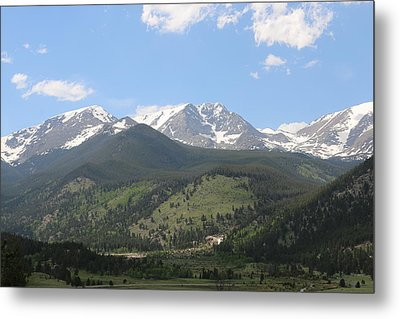 Rocky Mountain National Park - 3  Metal Print by Christy Pooschke