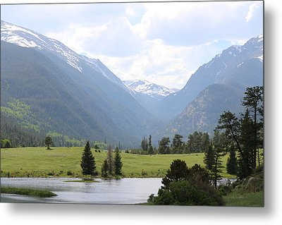 Rocky Mountain National Park  Metal Print by Christy Pooschke