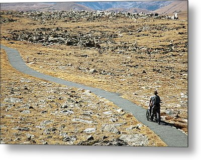 Rocky Mountain National Park Trail Metal Print by Jim West