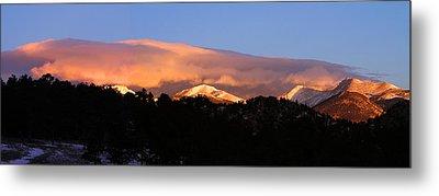Metal Print featuring the photograph Rocky Mountain Sunrise by Craig T Burgwardt