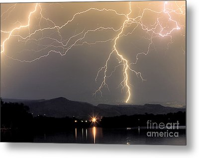 Rocky Mountain Thunderstorm  Metal Print