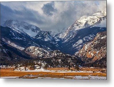 Rocky Mountain Weather Metal Print by Darren  White