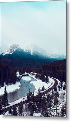 Rocky Mountains Metal Print by Kim Fearheiley
