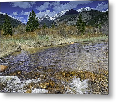 Rocky Mountains Metal Print by Tom Wilbert