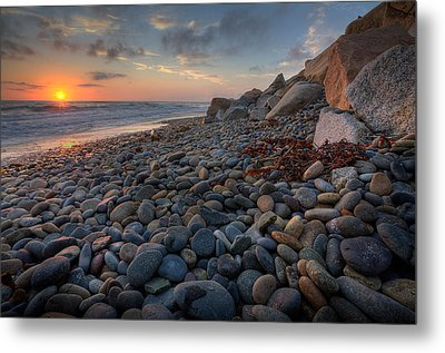 Rocky North Ponto Metal Print by Peter Tellone