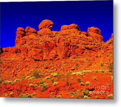 Metal Print featuring the photograph Rocky Outcrop by Mark Blauhoefer