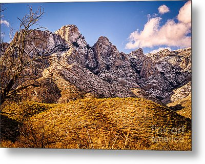 Metal Print featuring the photograph Rocky Peaks by Mark Myhaver