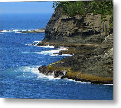 Metal Print featuring the photograph Rocky Shores by Tikvah's Hope