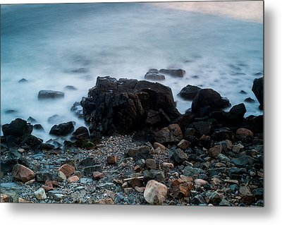 Rocky Water Metal Print by Allan Johnson
