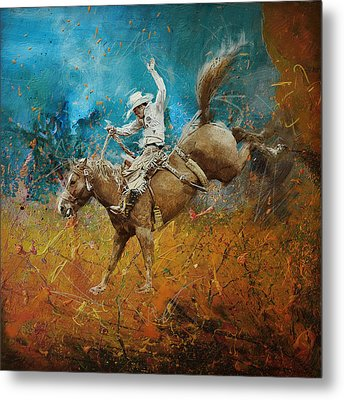 Rodeo 001 Metal Print by Corporate Art Task Force