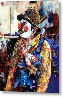 Rodeo Clown Metal Print by Suzy Pal Powell