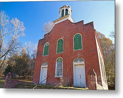 Rodney Presbyterian Church Metal Print by Russell Christie