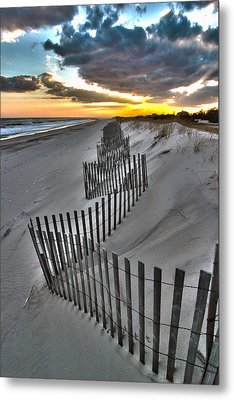 Rogers Beach First Day Of Spring 2014 Metal Print