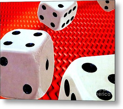 Roll Of The Dice Metal Print
