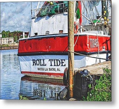 Roll Tide Stern Metal Print