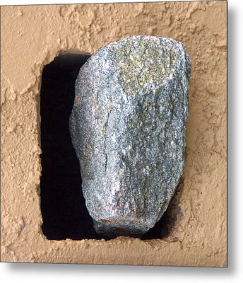 Rolling Back The Stone Metal Print