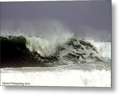 Rolling In The Deep Metal Print by Debra Forand