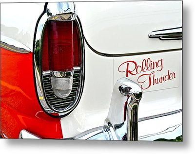 Rolling Thunder Metal Print by Frozen in Time Fine Art Photography