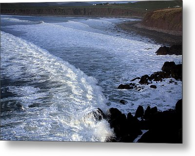 Rolling Waves Metal Print by Aidan Moran