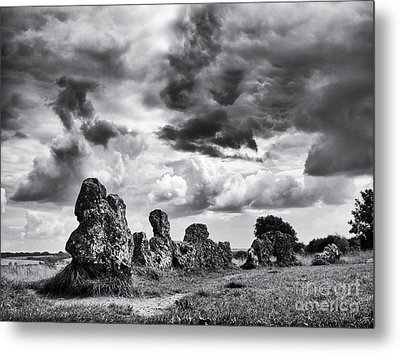 Rollright Stones Metal Print by Tim Gainey