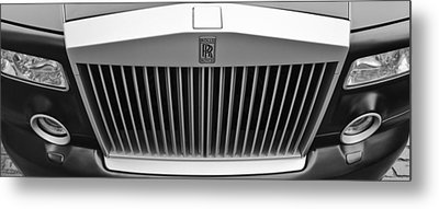 Rolls Royce Metal Print by Maj Seda
