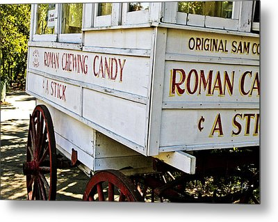 Roman Chewing Candy Metal Print by Scott Pellegrin