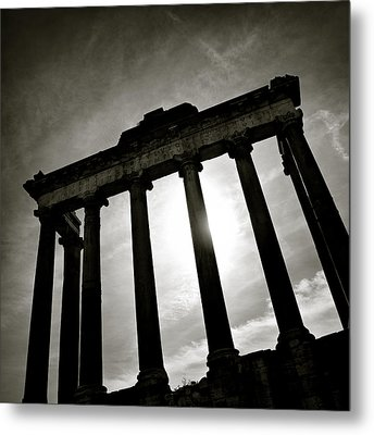 Roman Forum Metal Print by Dave Bowman