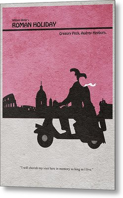 Roman Holiday Metal Print by Ayse Deniz