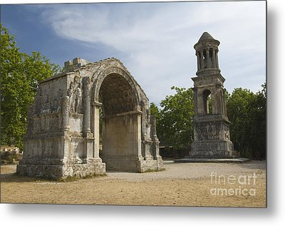 Roman Ruins, France Metal Print by John Shaw