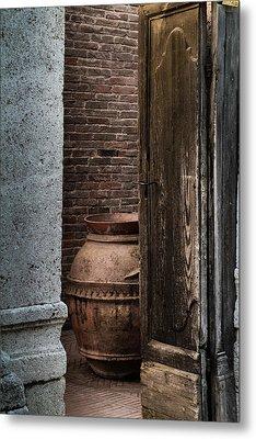 Roman Vase Metal Print