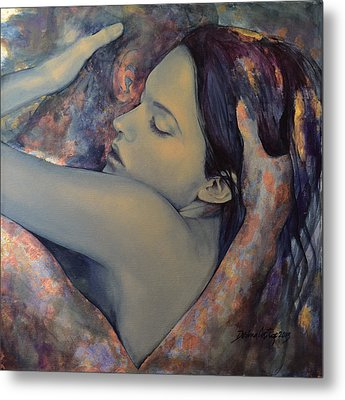 Romance With A Chimera Metal Print
