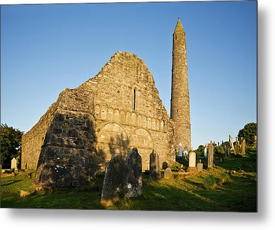 Romanesque Arcading, Gable End Metal Print by Panoramic Images