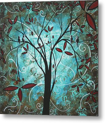 Romantic Evening By Madart Metal Print by Megan Duncanson