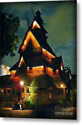 Romantic Evening For Two Metal Print