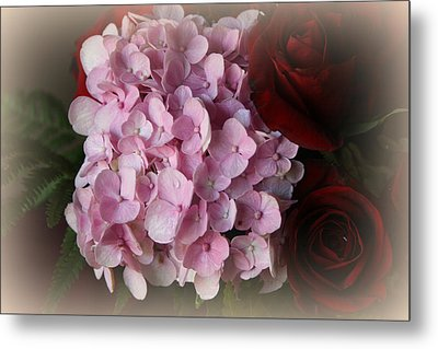 Metal Print featuring the photograph Romantic Floral Fantasy Bouquet by Kay Novy
