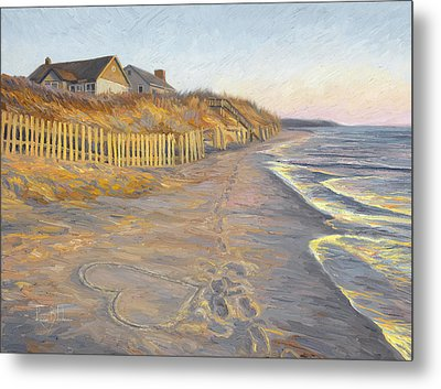 Romantic Getaway Metal Print by Lucie Bilodeau