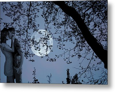 Romantic Moon 2  Metal Print