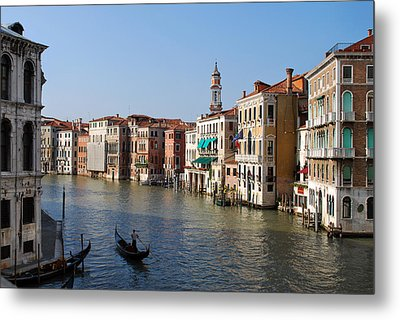 Romantic Venice Metal Print by Terence Davis