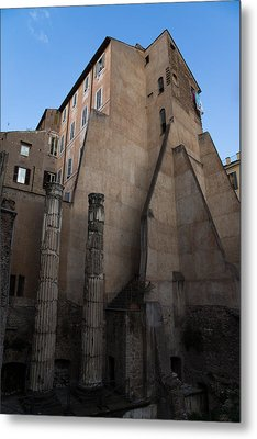 Rome - Centuries Of History And Architecture  Metal Print