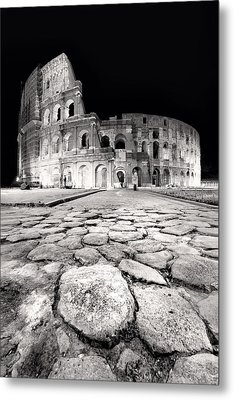 Rome Colloseum Metal Print