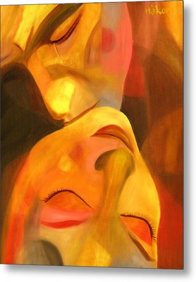Romeo And Juliet Metal Print by Hakon Soreide