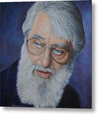 Ronnie Drew Metal Print by David Dunne