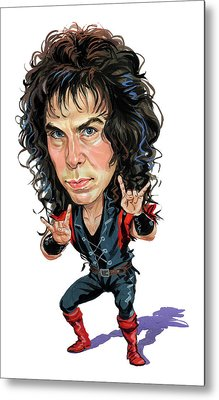 Ronnie James Dio Metal Print by Art